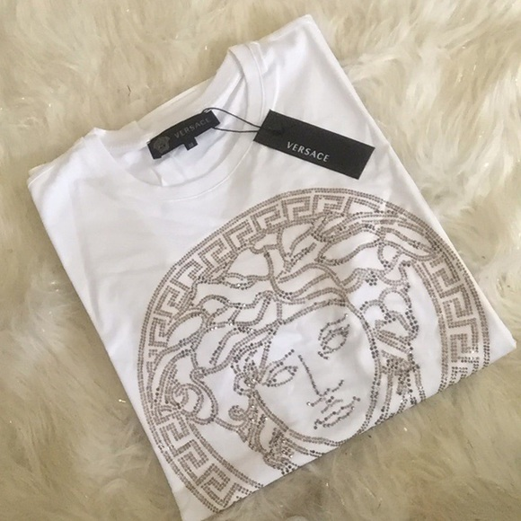 real versace shirt tag